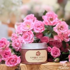Rửa mặt hoa hồng Karose Scrub